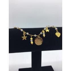Braccialetto Gold Star